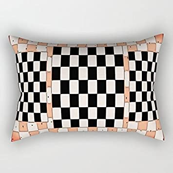 Amazon.com: Standard Pillowcase Home Decorative Cushion Case Checker Dot Pillow Cover 12x22 Inches: Home & Kitchen