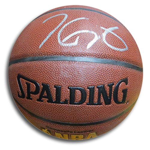 Kevin Durant Signed Autographed Spalding Basketball Warriors Thunder GV890750