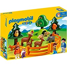 PLAYMOBIL 1.2.3 Forest Animal Park [parallel import goods]