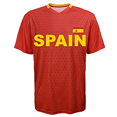 International Soccer Jersey Top