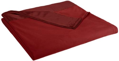 Compare Price Brick Red Blanket On Statementsltd Com