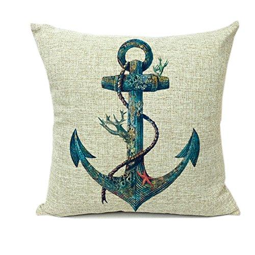Monkeysell Decorative Cushion Pillowcase Nautical