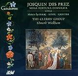Des Prez: Missa Fortuna Desperata / Songs / Motets By Isaac Senfl & Greiter