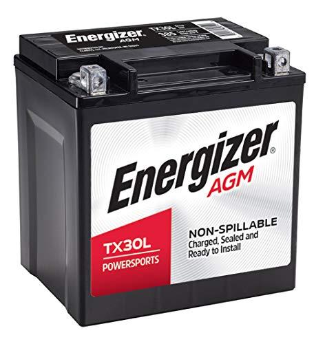 Energizer Black AGM Motorcycle