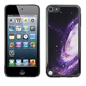 """Pulsar Snap-on Series Teléfono Carcasa Funda Case Caso para Apple iPod Touch 5 , Camino púrpura Espacio Universo Cosmos"""""""