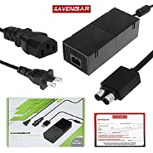 Xavengar AC Adapter Power Supply Cord for Xbox One Console with Power Cable [video game] …