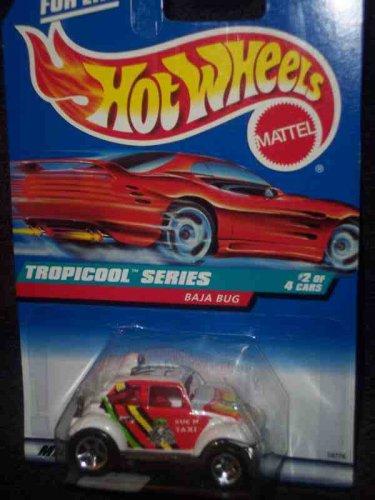 Tropicool Series #2 Baja Bug Malaysia Metal Base #694 Mint (Baja Bug Hot Wheels)