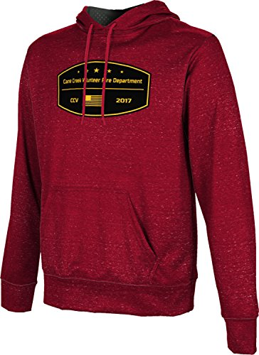 Price comparison product image ProSphere Men's Cane Creek Volunteer Fire Department Heather Pullover Hoodie