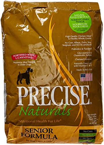 Precise 726029 Canine Senior Dry Food for Pets, 15-Pound