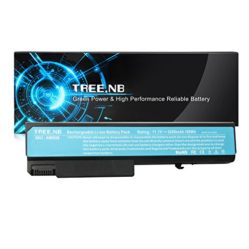Long Life TD06 TD09 Battery for HP Elitebook 8440p 8440w HP Compaq 6530B 6535B 6730B 6930P HP Probook 6440B 6445B 6540B Fits HSTNN-UB68 482962-001 484786-001 458640-542 KU531AA (Elitebook 8440p Battery)