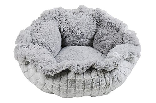 Dog Bed Flower - Happy Tails Flower Pull String Pet Bed