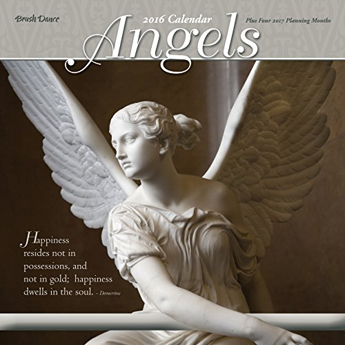 Angels 2016 Wall Calendar - 2016 Angels Wall Calendar