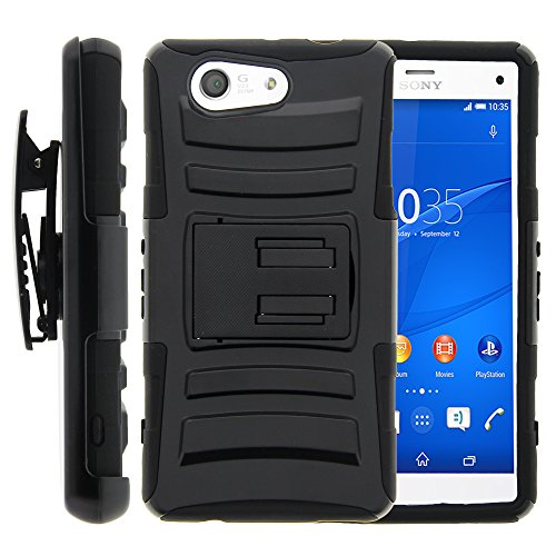 Xperia Z3 Compact Case, Xperia Z3 Compact Holster, - Sony Xperia Z3 Compact Black