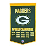 NFL Green Bay Packers Dynasty Banner