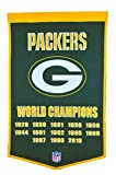Winning Streak NFL Green Bay Packers Dynasty Banner