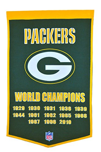 Green Banner (Green Bay Packers Dynasty Banner)