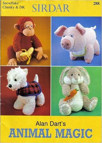 Alan Darts Animal Magic Knitting Pattern Amazon Alan Dart
