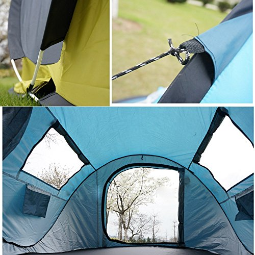 Ezyoutdoor C&ing Tent Canvas Tent 2 Seconds Pop Up Easy-to-carry Tent 2 : 2 person canvas tent - memphite.com