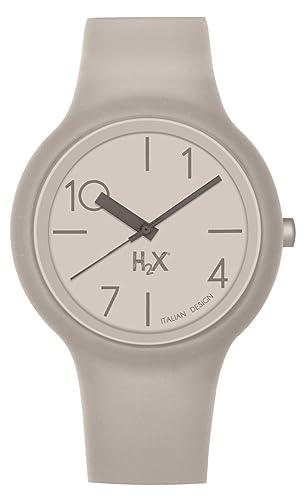 0134626041f7 Haurex Reloj Analógico para Hombre de Cuarzo con Correa en Caucho SC390UC1   Amazon.es  Relojes
