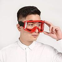 Doolland skidglasögon vindsäker spegel sandbeständig dammsäker anti-stänk säkerhetsglasögon arbetsförsäkringsglasögon