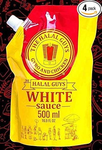 The Original Halal Guys White Sauce - 4 Large Units of 500ml (4)