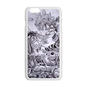 Winnie The Pooh And Tigger New Style High Quality Comstom Protective case cover For iPhone 6 Plus