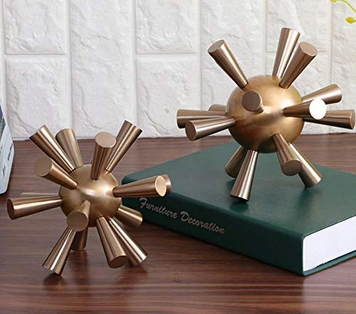 KYAWJY 分子モデルブックオフィス研究装飾ブックファイル作成高級ファッション家の装飾 (Style : ⊙160) B07P8R2668