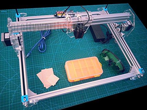 Zowaysoon 30X40cm A3 Stroke 500MW Laser Engraving Cutting Machine DIY Desktop Wood Engraver Cutting