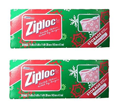 Ziploc Holiday Limited Snowflake Storage product image