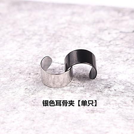 Silver Ear Bones Clip