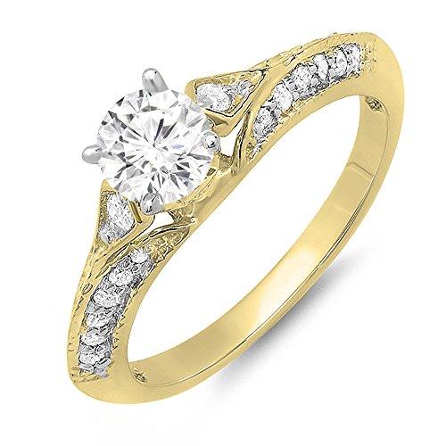 0.85 Ct Ladies Diamond - 9