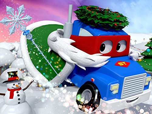 (The Christmas Spirit Truck/Supertruck the Giant Sledge)