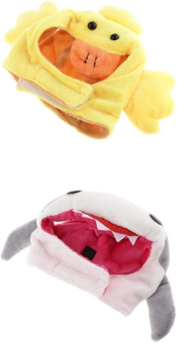 Duck Lint Cloth Pet Costume Hat Cap for 3.5-5kg Small Dogs and Cats