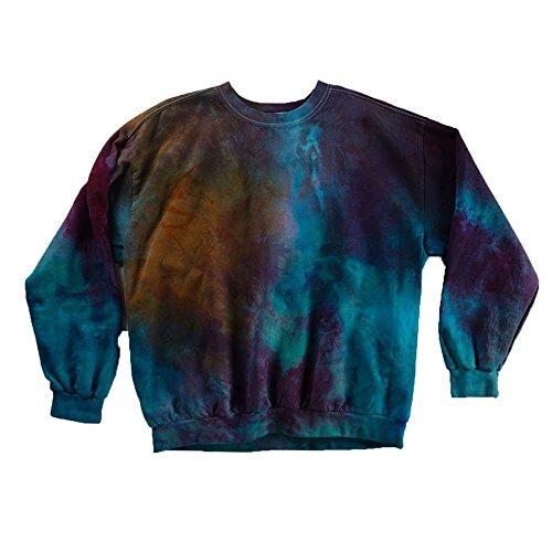 Rainbow Tie Dye Sweatshirt Unisex Festival Hoodie Grateful dead Plus Size S, M, L, XL, XXL -