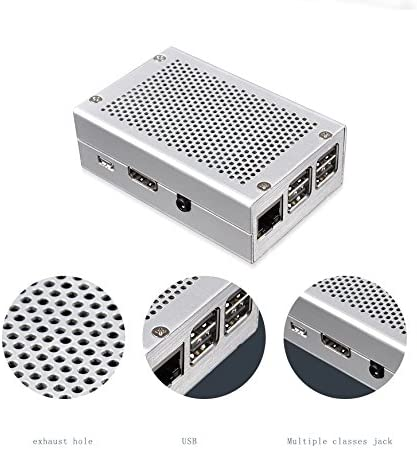 Aluminum Case Junhill Raspberry Pi 3B