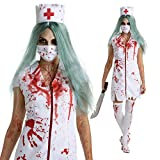 Womens Zombie Bloody Nurse Hospital Costume Costume