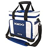 Igloo Stout Divided Marine Cooler – White/Navy, White, N/A Review