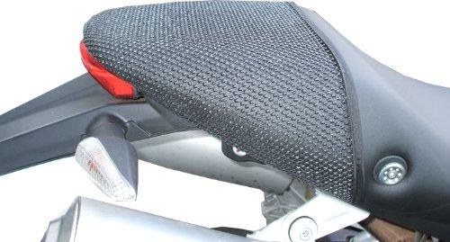 (TRIBOSEAT Ducati Monster (2008-2013) Anti Slip Motorcycle Passenger SEAT Cover Accessory Black)