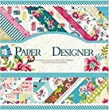 Vishal Pattern Design Printed Papers for Art & Craft, DIY Cardmaking& Scrapbooking (Set of 40 Sheets) (VS8005)