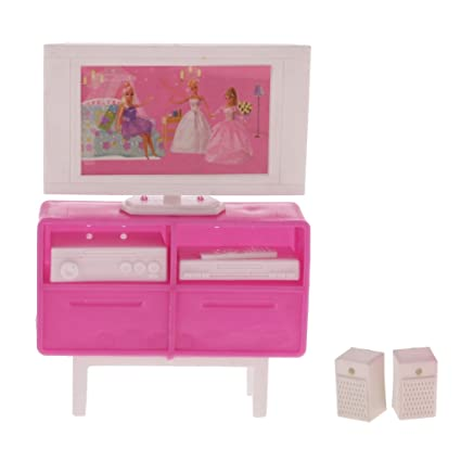 baby fancy my barbie set life room house doll play furniture toys dollhouse new