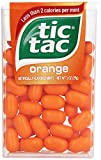 tic tac Orange Singles, 1 Ounce (Pack of 12)