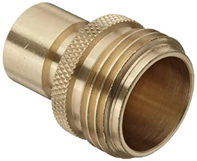 Dixon DGH7P Brass Quick Connect Fitting, Garden Hose Male Plug, 200 Psi  Pressure