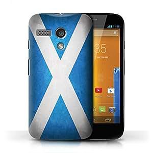 Kobalt® protector duro de nuevo caso / cubierta para el Motorola MOTO G (2013) | Escocia/escocés Diseño | Banderas colección