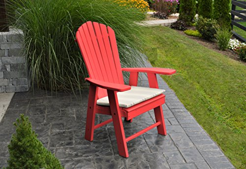 Cheap  BEST POLY WOOD ADIRONDACK CHAIR PORCH FURNITURE & PATIO SEATING, Upright Design..