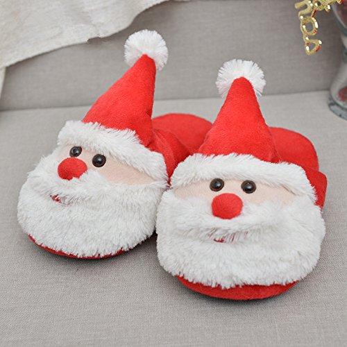 peluche Natale novit della unicorno Festival di ideali bianca adulti Kenmont Slip Regali compatibile pantofole Fantasia con morbido on qZtnxaTnE