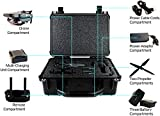 core 2 accesories - Professional HD Carrying Case For DJI Mavic Pro Drone - Stores DJI Mavic Pro Drone, Charger, Propellers And Accessories, Safely - Black