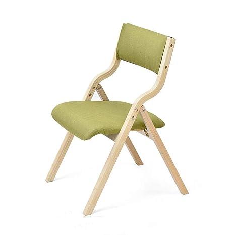 Stühle WX Xin - Silla Plegable de Madera Suave cojín Silla ...