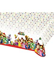 amscan Nintendo Super Mario, 9901539, 120 x 180 cm