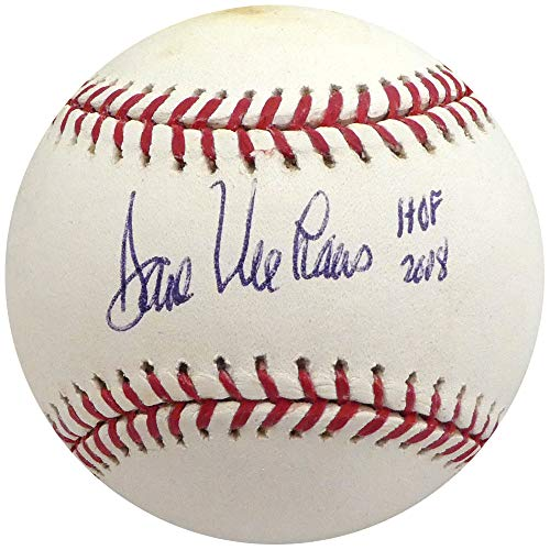 "Dave Niehaus Autographed Official MLB Baseball Seattle Mariners""HOF 2008"" Beckett BAS #H10745"