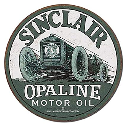Image Unavailable. Image not available for. Color: ShopForAllYou Vintage Decor Signs Sinclair Opaline Motor Oil ...
